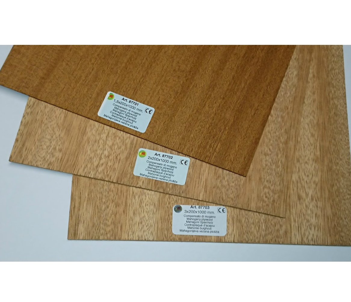 Model Mahogany Ply wood for modelling