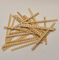 Model Boat fitting Boxwood grating kit dolls house diarama