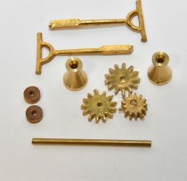 Model Boat Fittings brass windlass