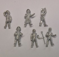 Model Boat fittings Crew Figures
