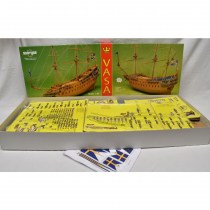 wood model ship boat kit Vasa man of war