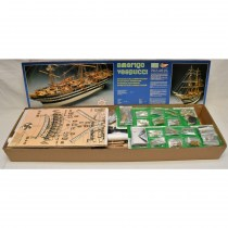 wood model ship boat kit Amerigo vespucci 741
