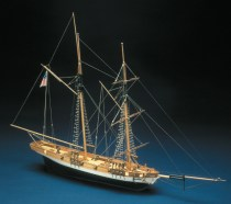 wood model ship boat kit Lynxx Schooner