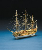 wood model ship boat kit Royal Caroline