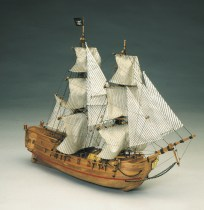 wood model ship boat kit Black Falcon