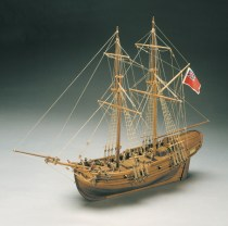 wood model ship boat kit HMS Shine