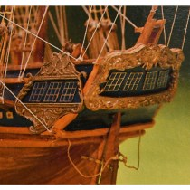 wood model ship boat kit HMS President