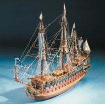 wood model ship boat kit Le Soleil Royal