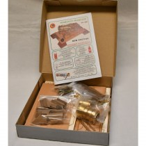 wood model weapon kit french mortar