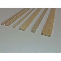 Balsa strip wood metric & imperial for model building 86101