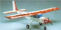 Model Aircraft kit wooden plastic Ginca high wing kit