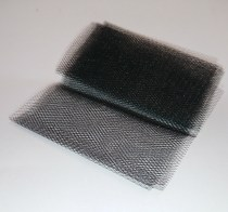 Model ship boat fitting railway diarama scale black netting fine