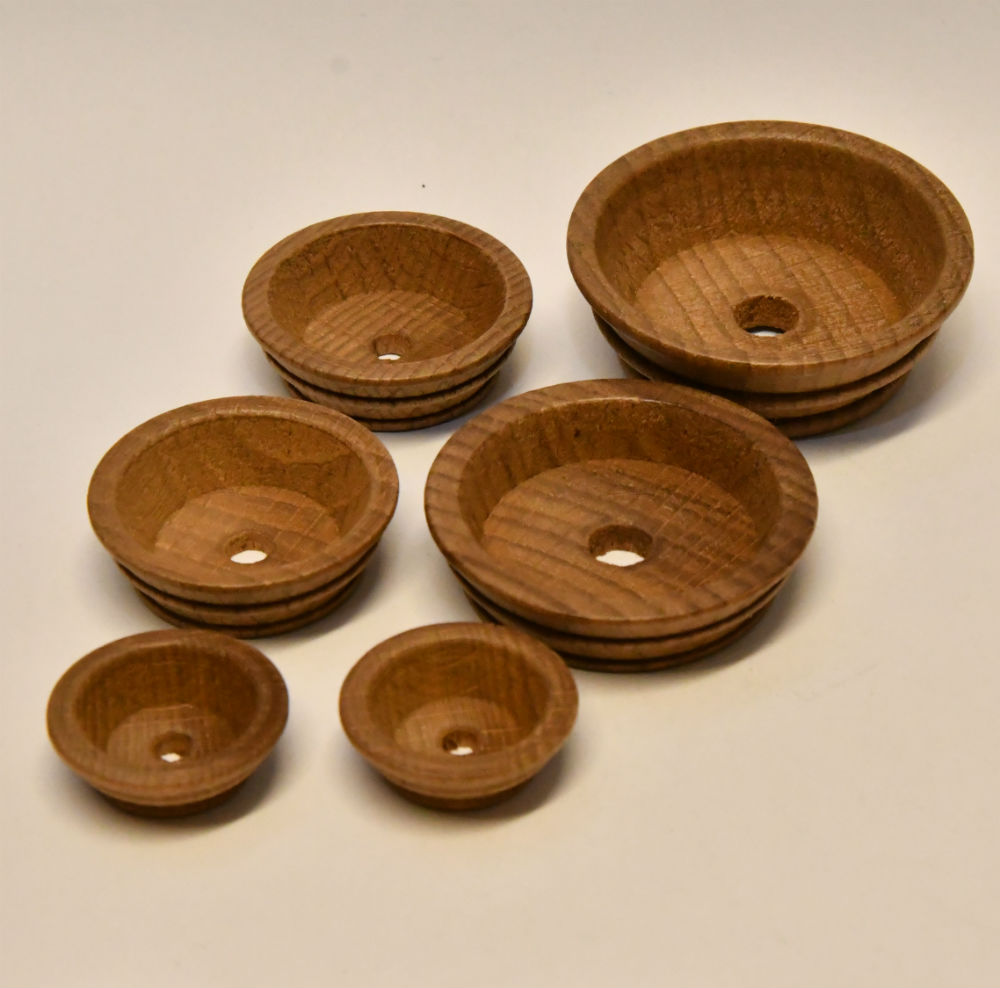 Model Boat Fittings Wooden Mast Tops
