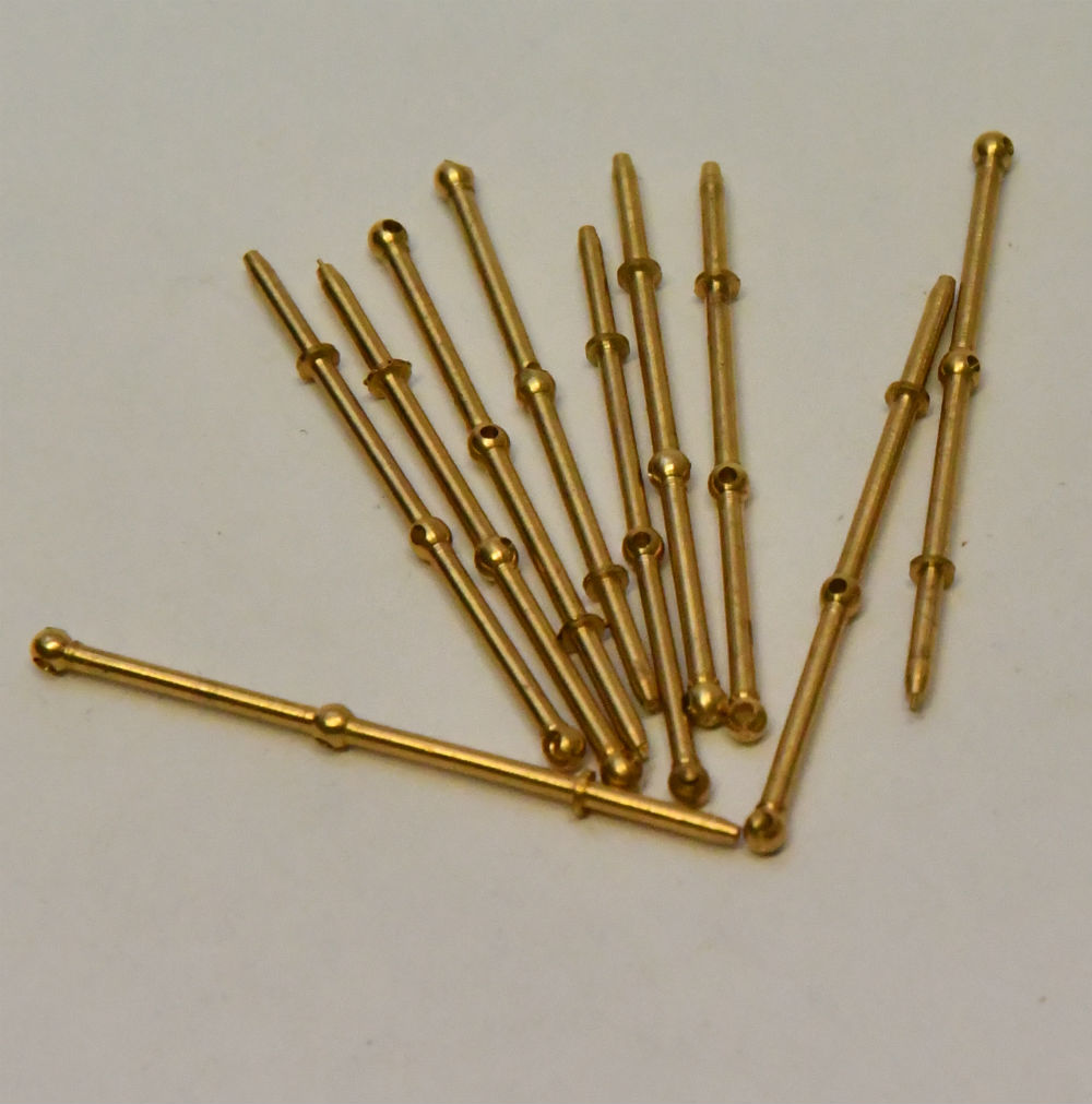 Model Boat Ship brass stanchions handrail post