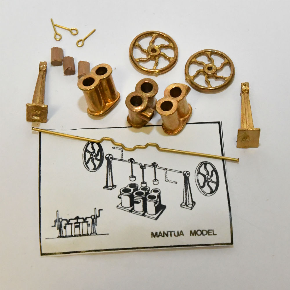 scale Model Boat or Ship fittings Brass water pump