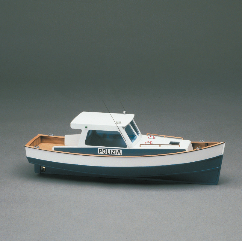 wood model ship boat kit police boat