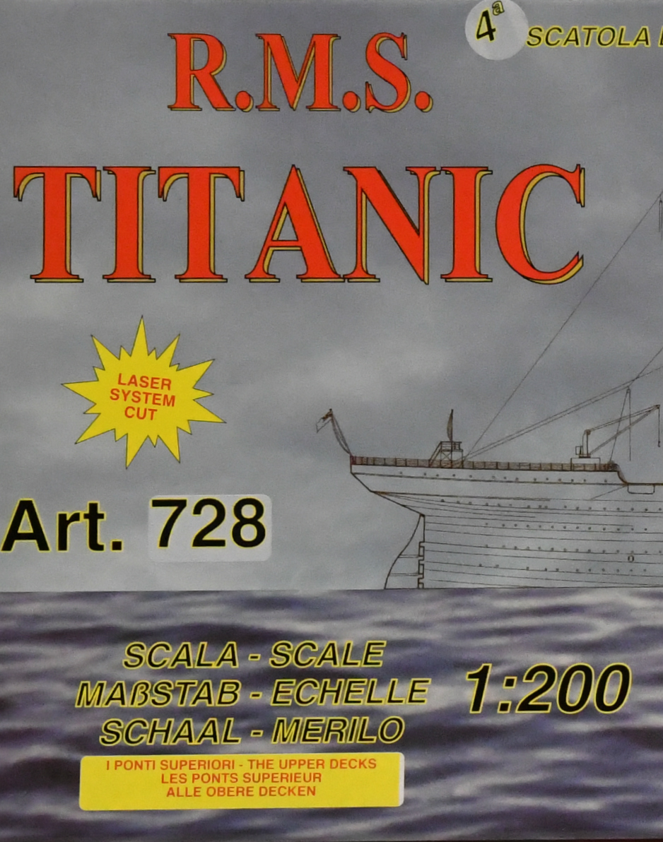 wood model ship boat kit Titanic 4