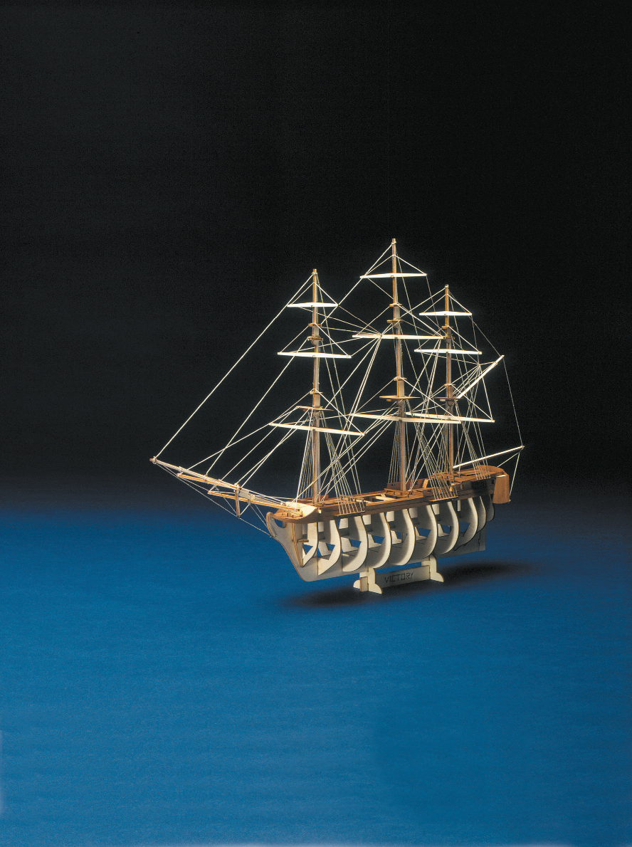 Mantua Wooden Lifeboat Set for H.M.S Victory Scale 1:200