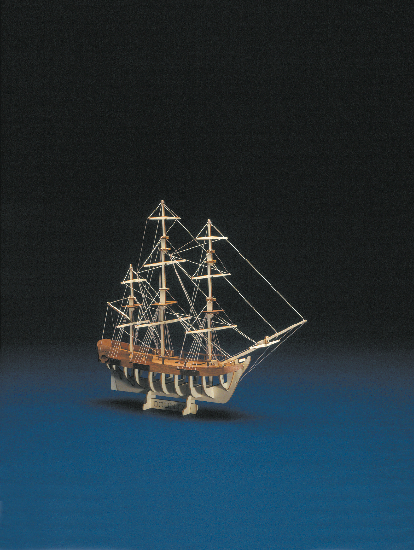 wood model ship boat kit HMS bounty