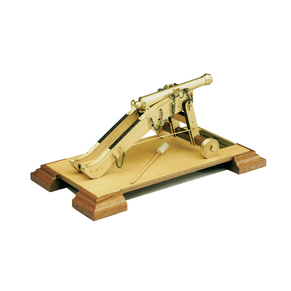 wood model weapon kit itailian cannon
