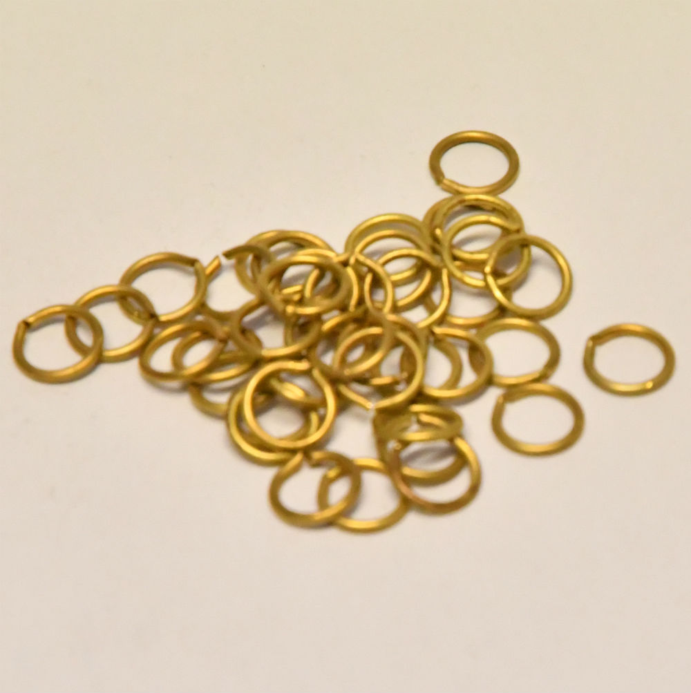 Model Boat Ship fittings brass rings