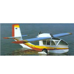Model Aircraft kit wooden plastic Double cebee sea plane kit kit
