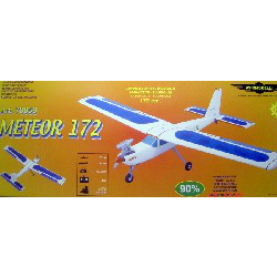 Model Aircraft kit wooden plastic Meteor 172 kit