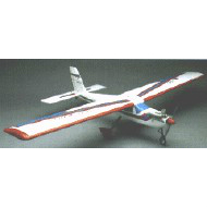 Model Aircraft kit wooden plastic Quo Vadis high wing kit
