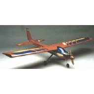 Model Aircraft kit wooden plastic Rainbow mid wing  kit