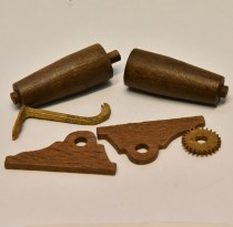 Model Boat Fittings wooden windlass