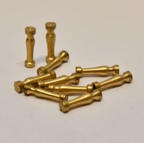 Model Boat Ship brass stanchions columns posts