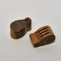 Model Boat Ship rigging blocks
