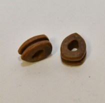 Scale Model boat fittings Walnut rigging block tall ship galleon
