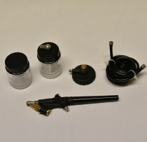 Airbrush single action for Compressor for painting high detail