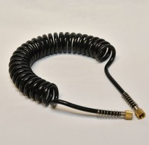 Flexible air hose for spraying 1/8th to 1/8th bsp