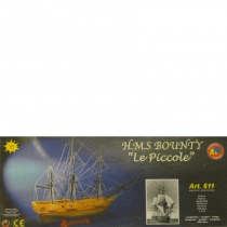 wood model ship boat kit HMS bounty le piccole