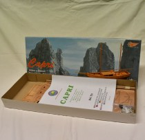 wood model ship boat kit capri