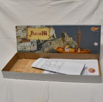wood model ship boat kit amalfi