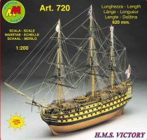 wood model ship boat kit HMS Victory