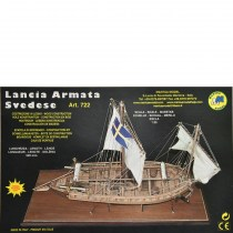 wood model ship boat kit Lancia Armata gun boat