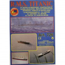wood model ship boat kit Titanic 2 motor kit