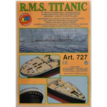 wood model ship boat kit Titanic 3