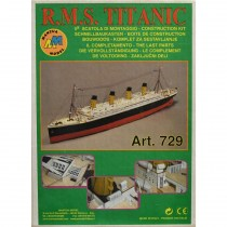 wood model ship boat kit Titanic 5