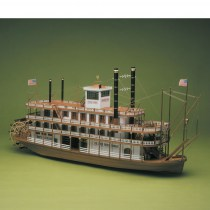wood model ship boat kit Mississippi