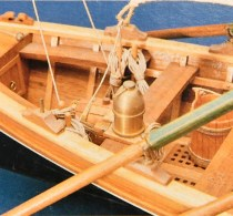 wood model ship boat kit open whaler
