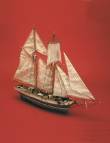 wood model ship boat kit La Rose