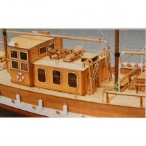 wood model ship boat kit Trotamares