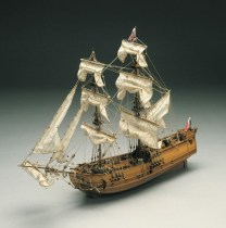 wood model ship boat kit Golden Star