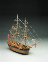 wood model ship boat kit Endevour
