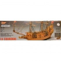 wood model ship boat kit La Couronne